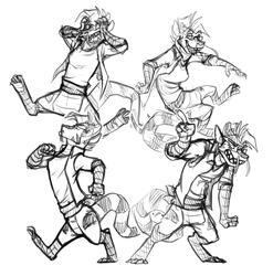 Toros Sketches