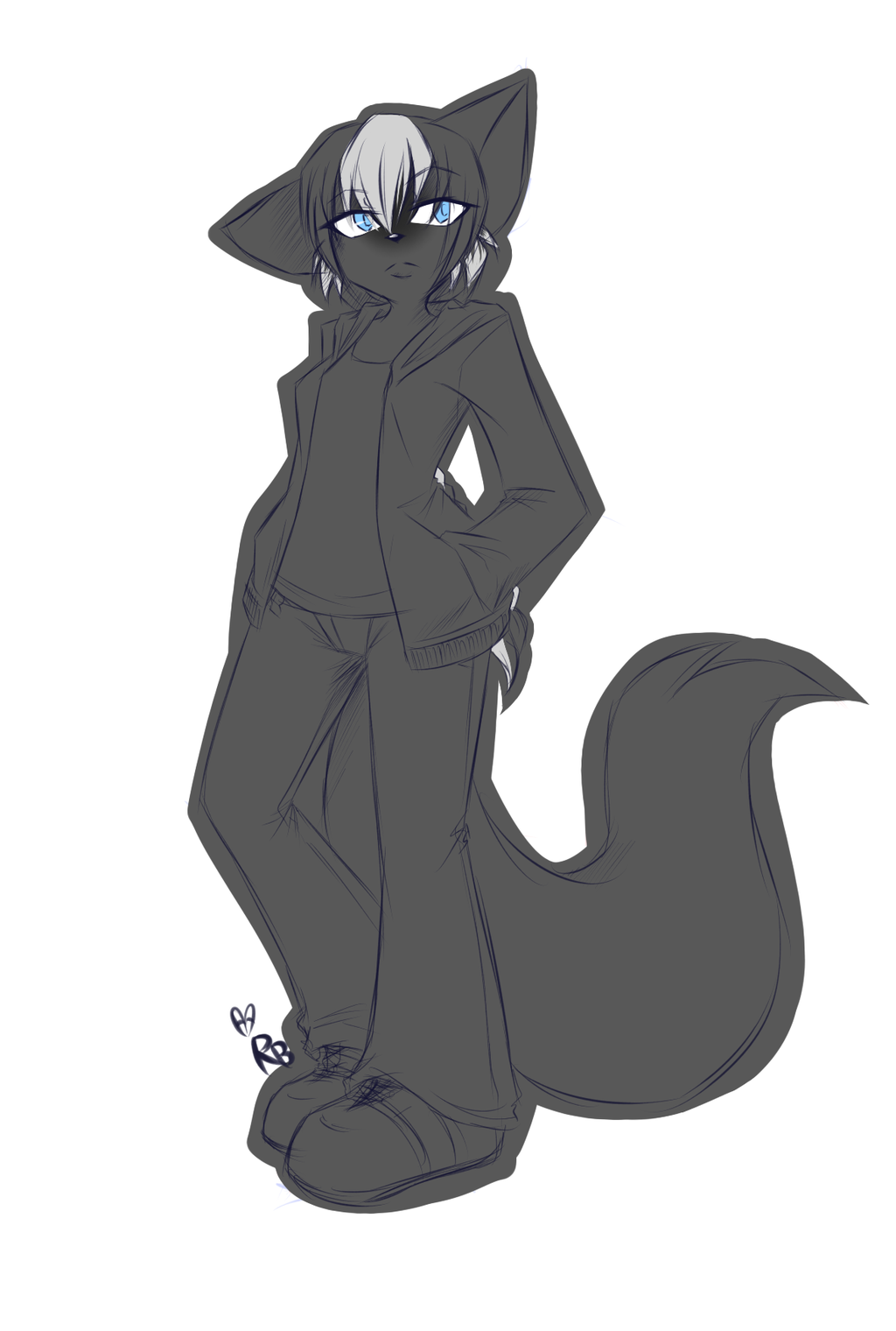 Anthro sketch commission