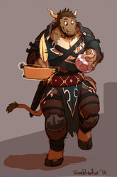 Commission - Warrior Mage
