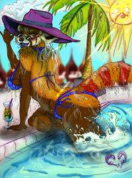 Blue Tongue Rum Runner
