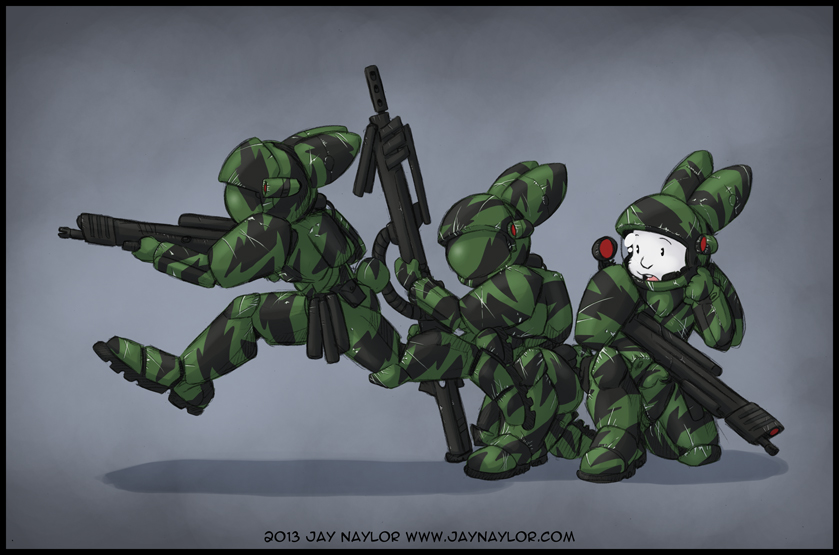 Power Armored Bunnies