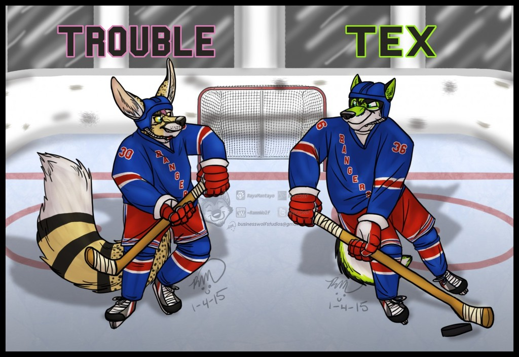 Trouble and Tex: Rangers ANE Badges
