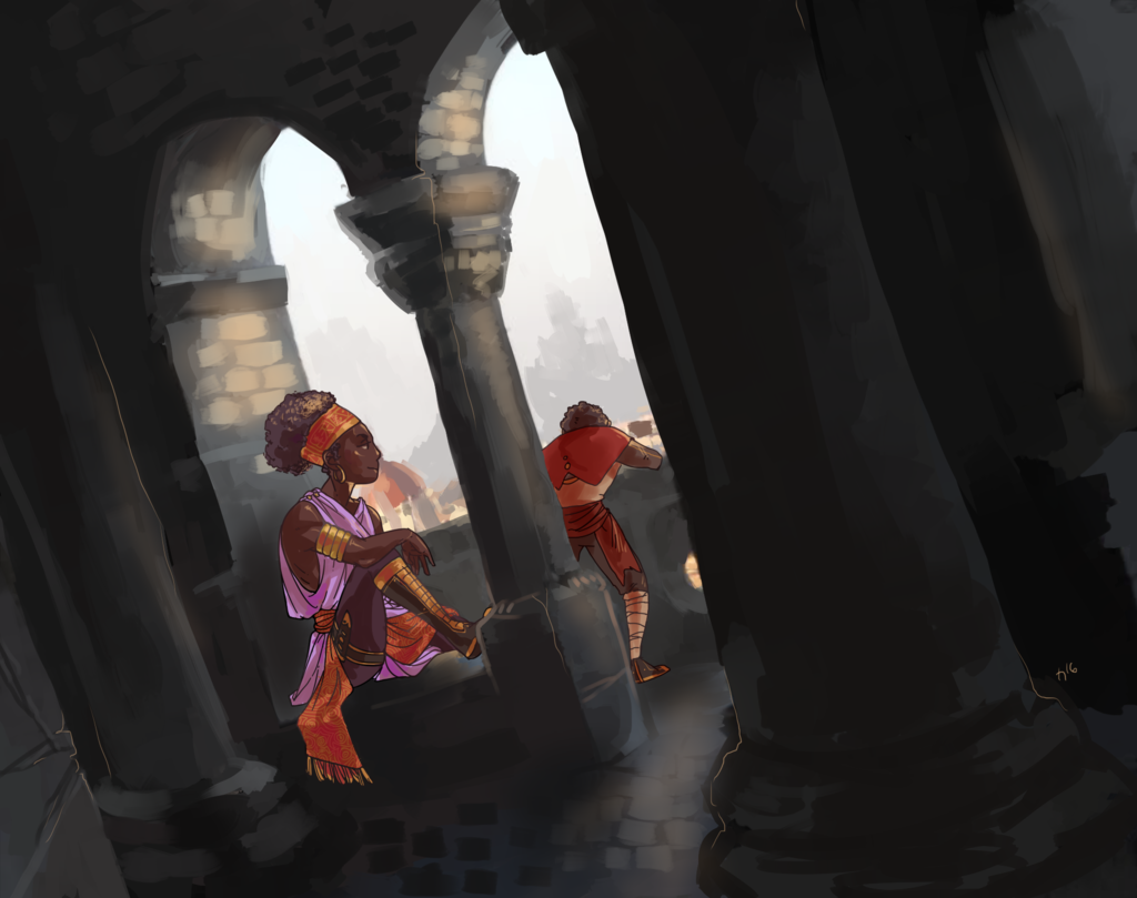 In The Bastion
