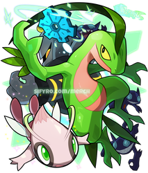 Merch: Grovyle the cool weed