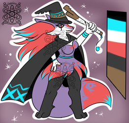 Witchy Shiny Female Braixen +Design+ (SOLD)