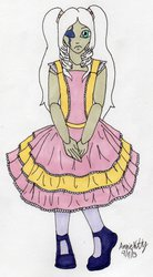 (T)Haunted Doll Character Design