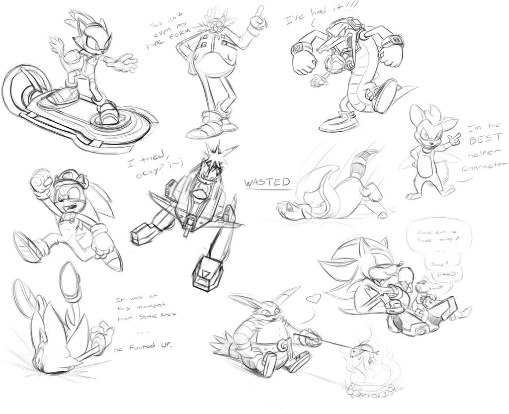 Sonic Sketch Stream- 01