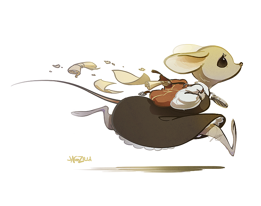 Most recent image: Run, Abigail, run!