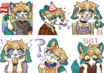 DANES WORLD Telegram Sticker Pack Update