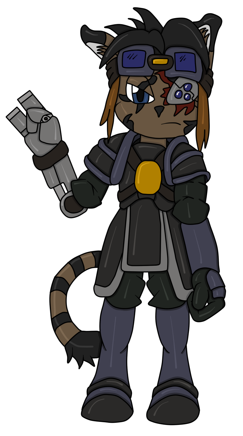 Most recent image: Freedom Planet Style Tiger (Name pending)