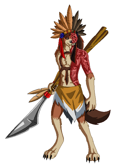 LOK Fighting Game: Chieftain Makara Sprite