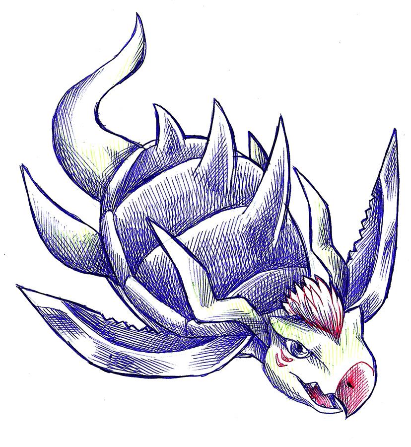 Inktober 15: Archelomon