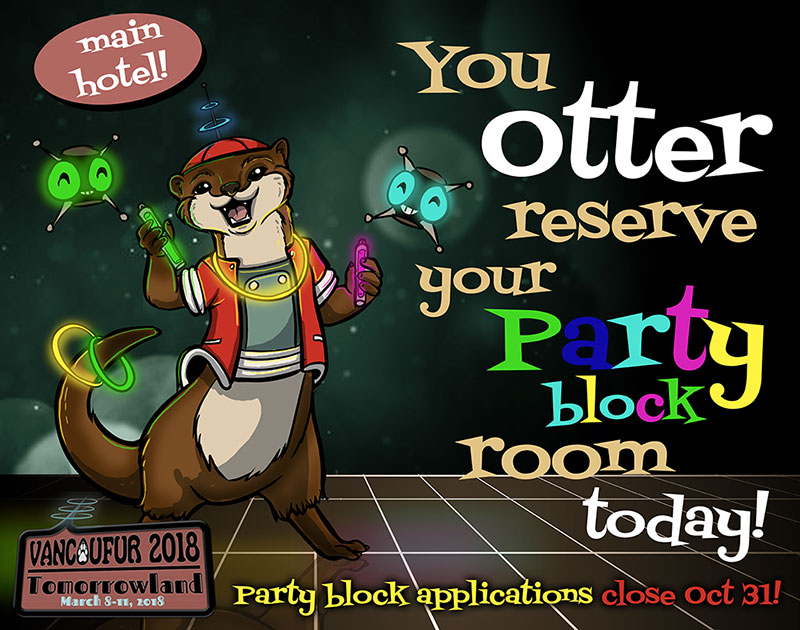 Most recent image: Party Block Applications closing Oct 31! Apply now!
