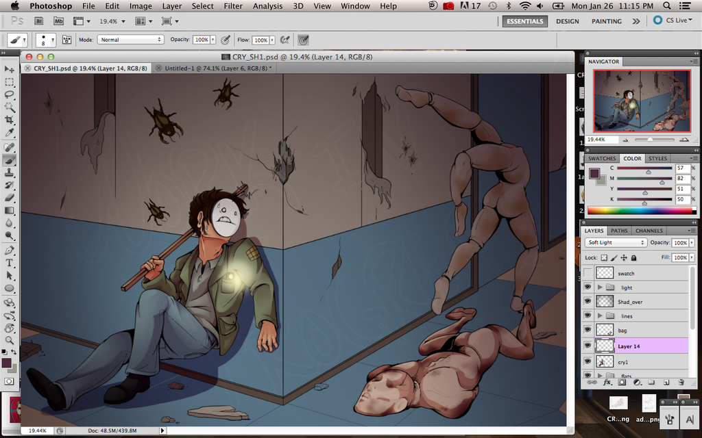 Cry Plays Silent Hill: WIP