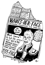 ROCK & RULE ZINE: What's-Her-Face
