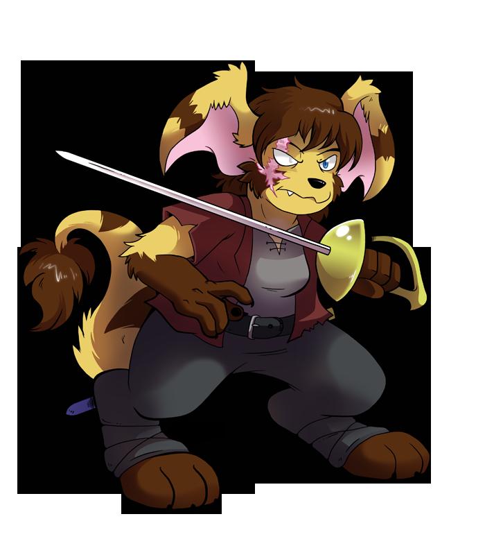 Featured image: Commission - Jakkai with Rapier