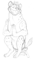 Wrestler Hyena