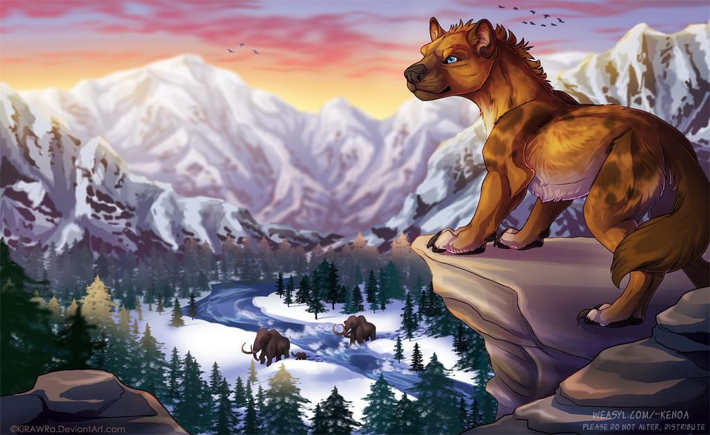 Most recent image: Pleistocene Sunrise