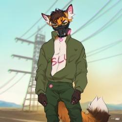 Cyberpunk Foxxo