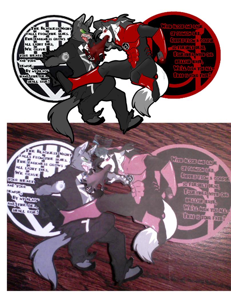Couples Connecting Badges - cyriljackal x rockyberboral