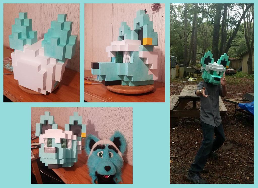 Finished Pixel Head!
