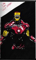 Iron Man (Inktober 2018, Piece 8)
