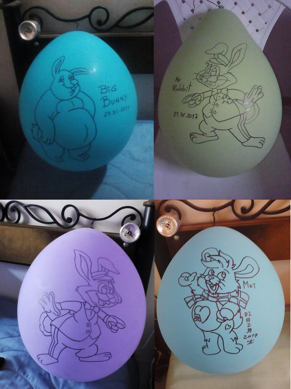 Balloon Bunnies