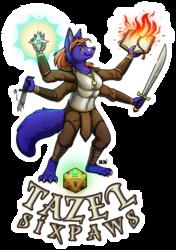 Tazel Sixpaws Full Body Badge