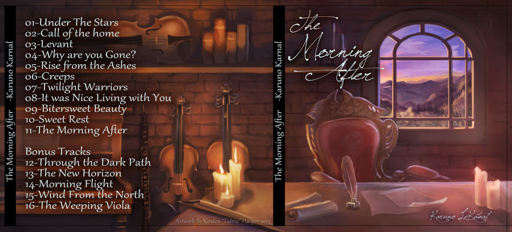 The morning After-CD cover/label