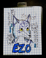 Furry University (FWA 2014) Themed Badge for Ezo!