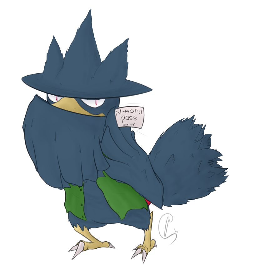 [Commision] Murkrow 4