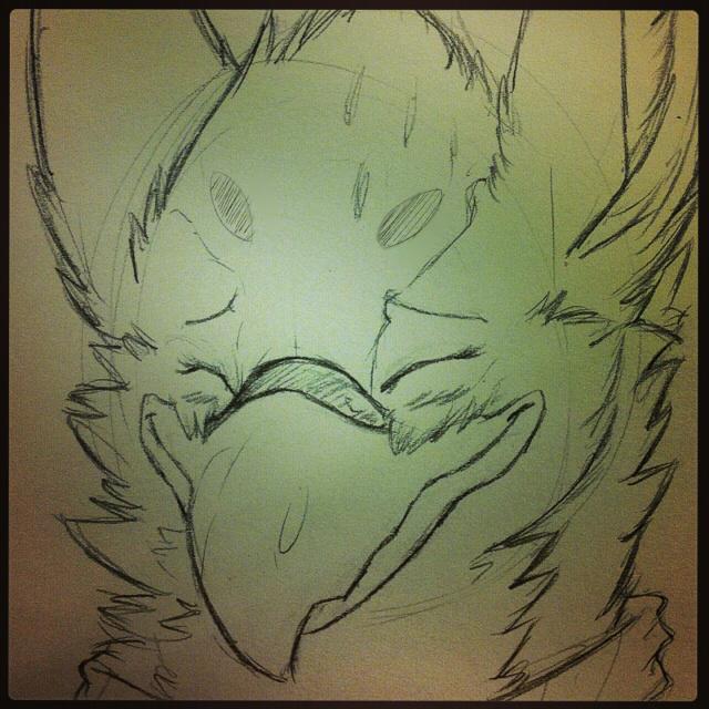 Raveburd blush by Cyan Coyote