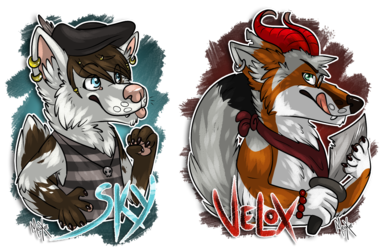 .: We're ready for a pirate adventure ! [COM]
