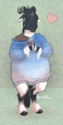Dat gradient sweater