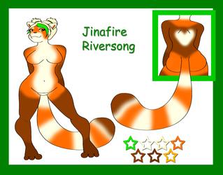 Jinafire Riversong Reference Sheet