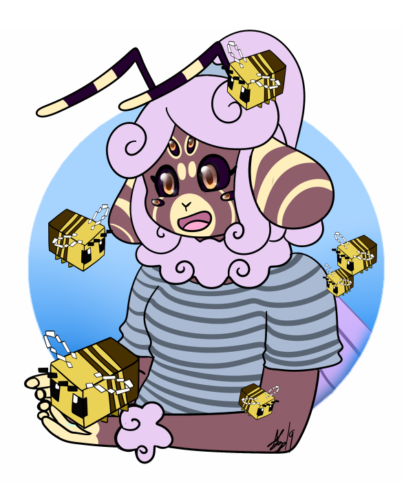 *hands you a minecraft bee*