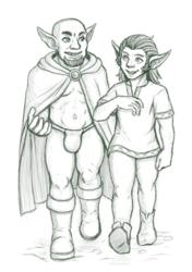 Rafle and Galliard [Commission]