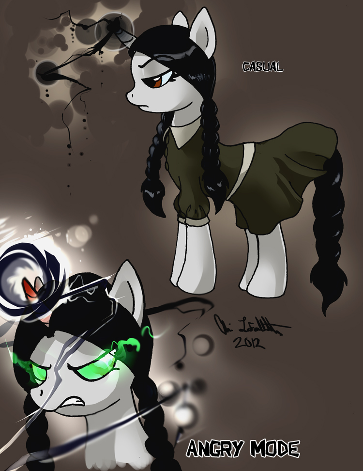 Wednesday Friday Addams.. ponified