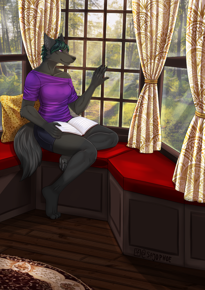 Most recent image: Afternoon Reading