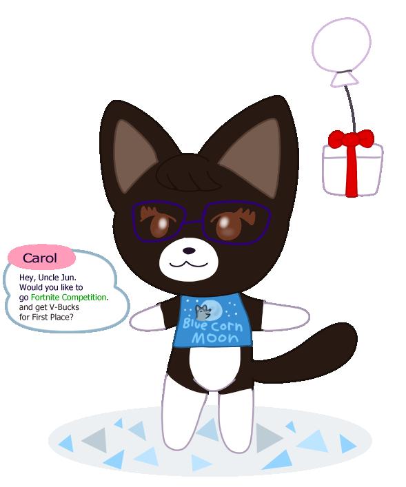 Carol Cat Villager