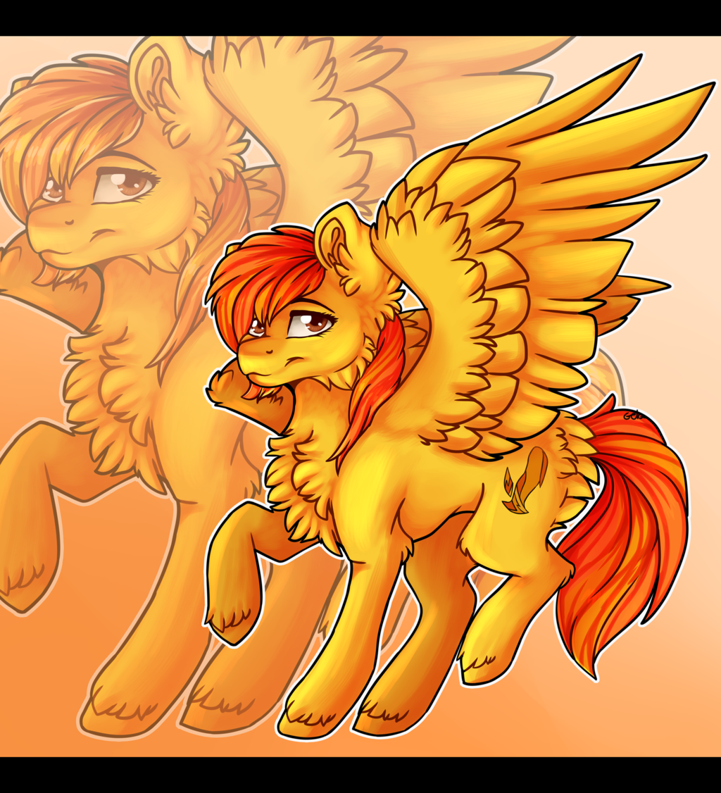 Most recent image: [YCH] Firetale