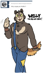 Willy, The Big Gay Bear!