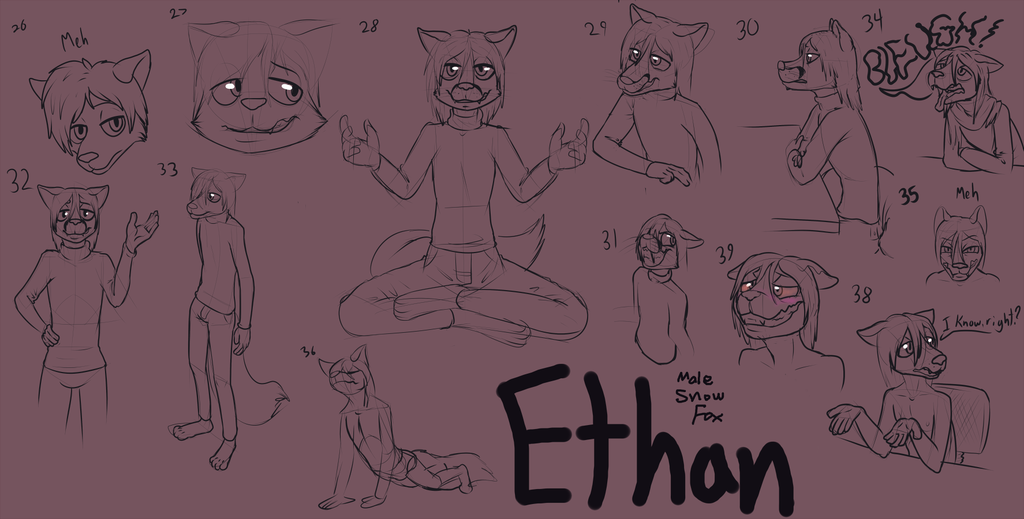 Ethan Neburin Concept Doodles