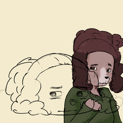 icon doodles - frances