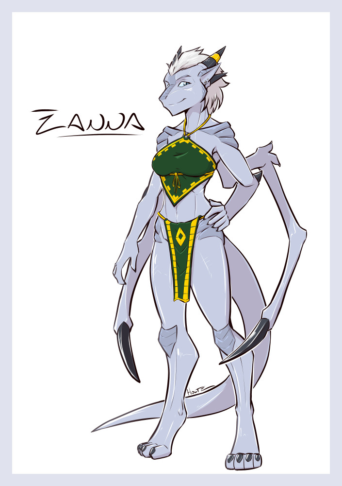 Zanna the Ground Dragon!