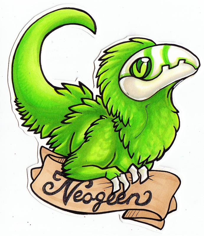 neogeen badge