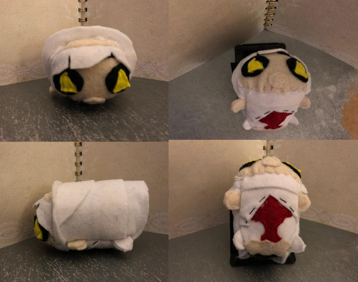 Fire Force Yona Small stacking Plush Commission