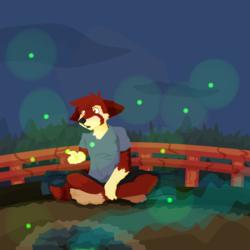 Pandana hunts for Fireflies