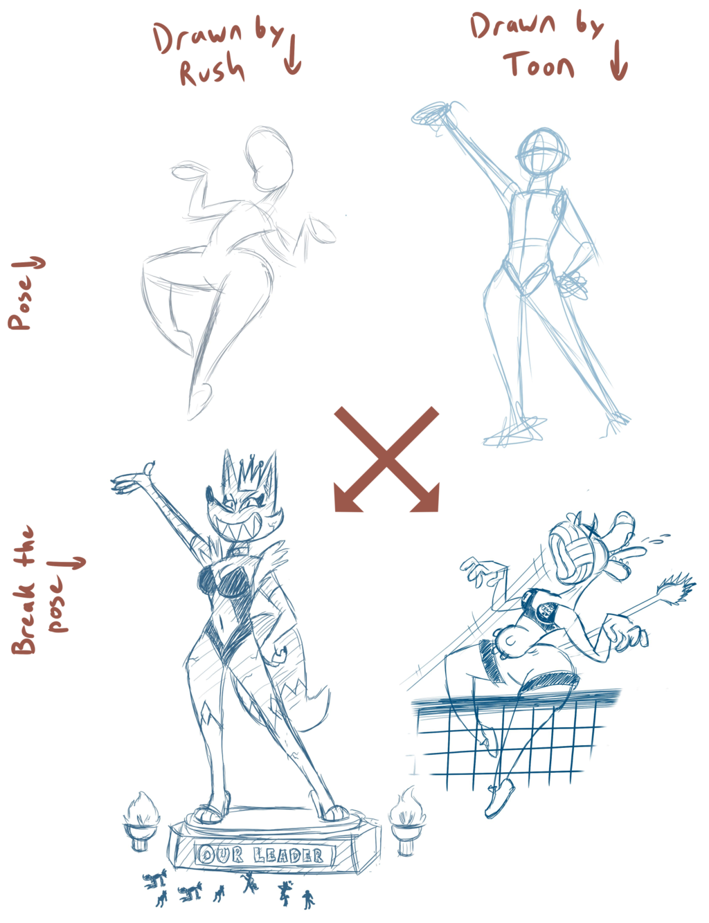 Toon's and Rush's Drawpile