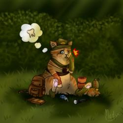 Even adventurers need a break sometimes.